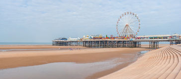 Central Pier in Blackpool Stock Photo