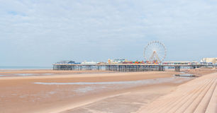 Central Pier in Blackpool Royalty Free Stock Photography