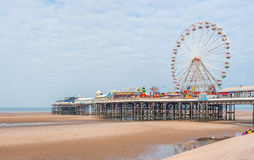 Central Pier in Blackpool Royalty Free Stock Photos