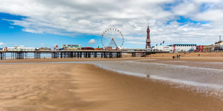 Central Pier Blackpool royalty free stock images