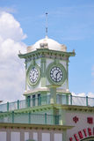 Central Pier clock Stock Photography