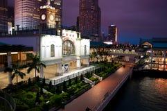 Central Pier, Hong Kong. Stock Image
