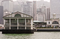 Central Pier, Hong Kong Royalty Free Stock Images