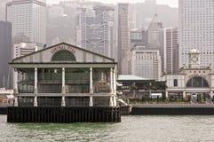 Central Pier, Hong Kong Royalty Free Stock Images