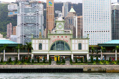 Central pier, hong kong Royalty Free Stock Photography