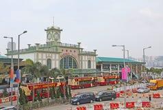 Central pier in Hong Kong Royalty Free Stock Photo