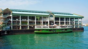 The central pier, hong kong Royalty Free Stock Photo