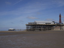 Central Pier Royalty Free Stock Photography
