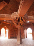 The central pillar of Diwan-i-khas Royalty Free Stock Images