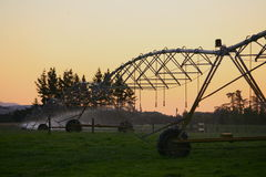 Central pivot irrigation 1 royalty free stock photo