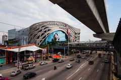 Central Plaza Westgate i Nonthaburi Arkivfoto