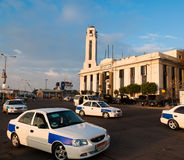 Central police station building in Port Said,Egypt Royalty Free Stock Photography