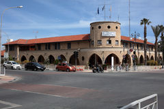 Central police station of Larnaca, Cyprus Royalty Free Stock Photos