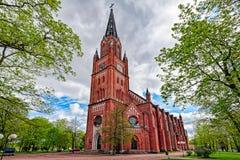 Central Pori church Stock Images
