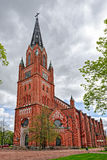 Central Pori church Royalty Free Stock Images