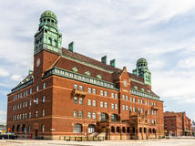 Central post office of Malmo. Sweden royalty free stock photos
