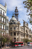 Central Post Office of Valencia, Spain Stock Photography