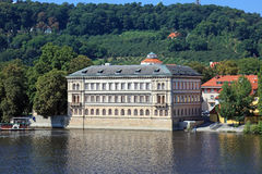 Central Prague,. View of central Prague, an old building Stock Photography