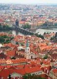 Central Prague Stock Photo