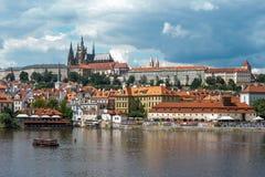 Central Prague Stock Image