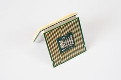 Central Processing Unit (CPU) Stock Images