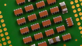 Central Processing Unit stock video footage