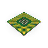 Central processing unit CPU concept by Back board Stock Photography