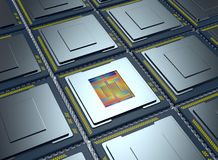 Central processing unit, cpu Stock Images