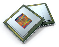 Central processing unit, cpu Stock Photography