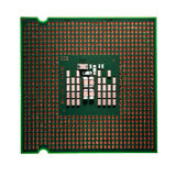 Central processor close up Stock Photography