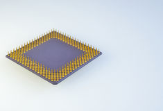 Central processor for computer Stock Photo