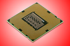 Central processor unit Royalty Free Stock Image