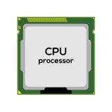 Central processor unit Stock Image