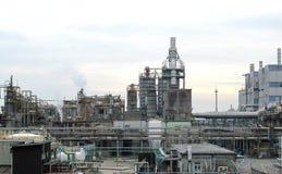 Central química Foto de Stock Royalty Free
