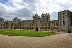 Central quadrangle at Windsor Castle, UK Royalty Free Stock Photo