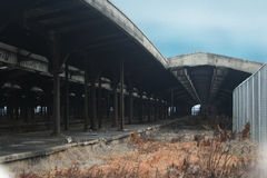 Central Railroad of New Jersey Terminal Stock Image