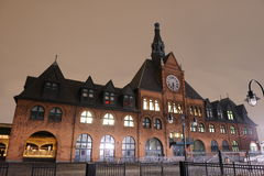 Central Railroad Terminal of New Jersey. Central Railroad Buidling located in Liberty State Park in New Jersey. The terminal was built in 1889, replacing an Stock Photography