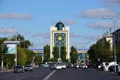 Central railway station in Astana Stock Photos