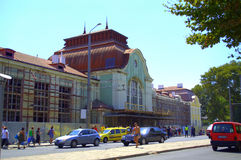 Central Railway Station Burgas Stock Photography