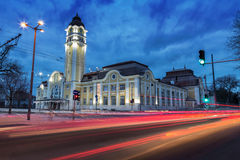 The central railway station of Burgas Royalty Free Stock Images