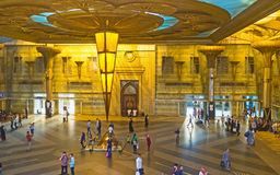 The central railway station of Cairo Stock Images
