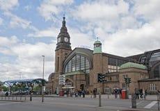 Central railway station hamburg Royalty Free Stock Images