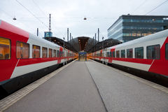 Central railway station in Helsinki, Finland Royalty Free Stock Images