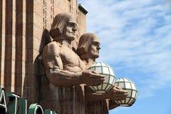 Central railway station - Helsinki, Finland Stock Photo