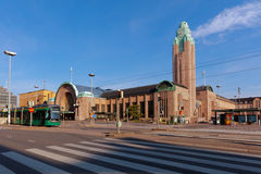 Central railway station in Helsinki, Finland Stock Photos