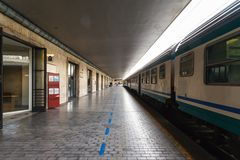 Central Railway Station Livorno Stock Photo