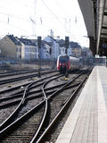 Central railway station in Luxembourg Stock Photography