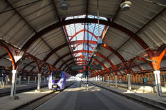 Central railway station in Malmo, Sweden Royalty Free Stock Photo