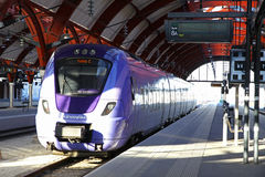 Central railway station in Malmo, Sweden Royalty Free Stock Photography