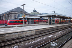 Central railway station in Nuremberg Royalty Free Stock Photos